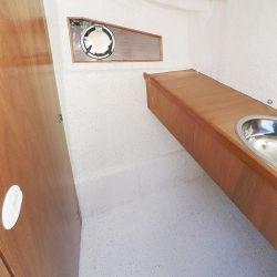 Sector de baño compartimentado.
