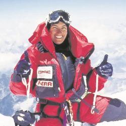 Los picos más altos del mundo se rindieron ante su inconmensurable valentía.cieron ickto´`as
