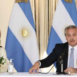 Cristina Kirchner y Alberto Fernández.