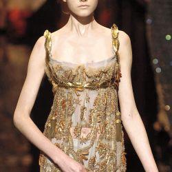 Colección otoño 2006 por Dolce & Gabbana inspirada en Josefina.
