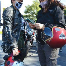 """""""La moto no tiene género ni edad"""", es una de las frases que más se escucha dentro del grupo."""