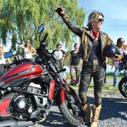 Gracias al apoyo de sponsors, la comunidad brinda clínicas gratuitas de manejo y también planes de financiación para la compra de motos.
