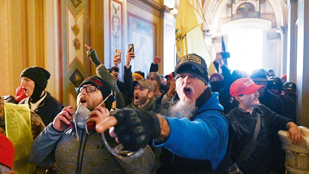 Toma del Capitolio | Foto:AFP