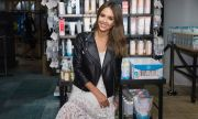 Jessica Alba Visits Nordstrom Downtown Seattle To Promote The Honest Company