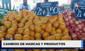 Cambios de marcas y productos