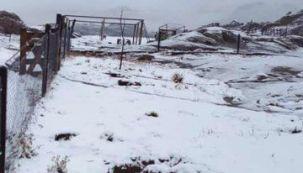 Así fue la primera nevada del año en Córdoba