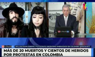 El fotógrafo argentino amenazado en Colombia habló en RePerfilAr
