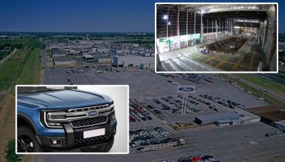 Ford comienza a reformar su planta de Pacheco para producir la Ranger 2023