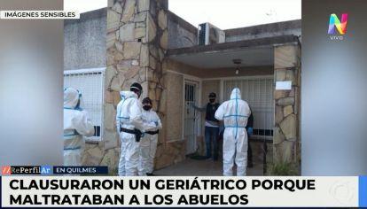Video: Geriátrico del Horror en Ezpeleta