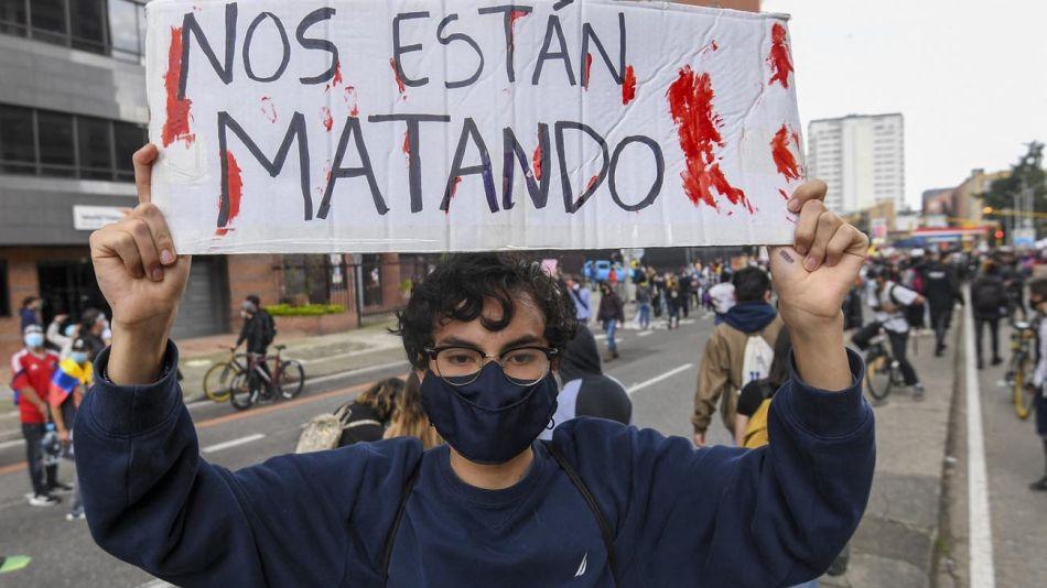 Colombia protesta contra una reforma tributaria 20210505