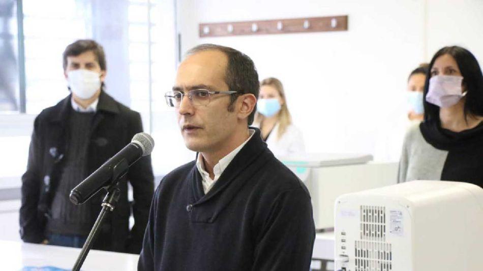 Marcos Pisano intendente de Bolivar 20210505