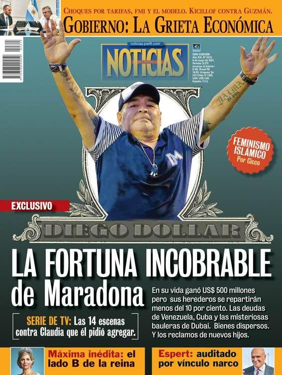 Tapa Revista NOTICIAS | Foto:Cedoc