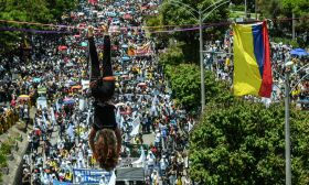 protests continue colombia medellin