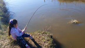 Esquina abre su Escuela Municipal de Pesca Infantil