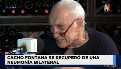 Cacho Fontana recuperado