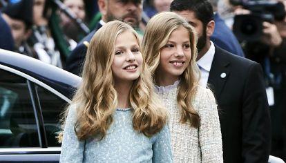 7 restricciones de la princesa Leonor y la infanta Sofía