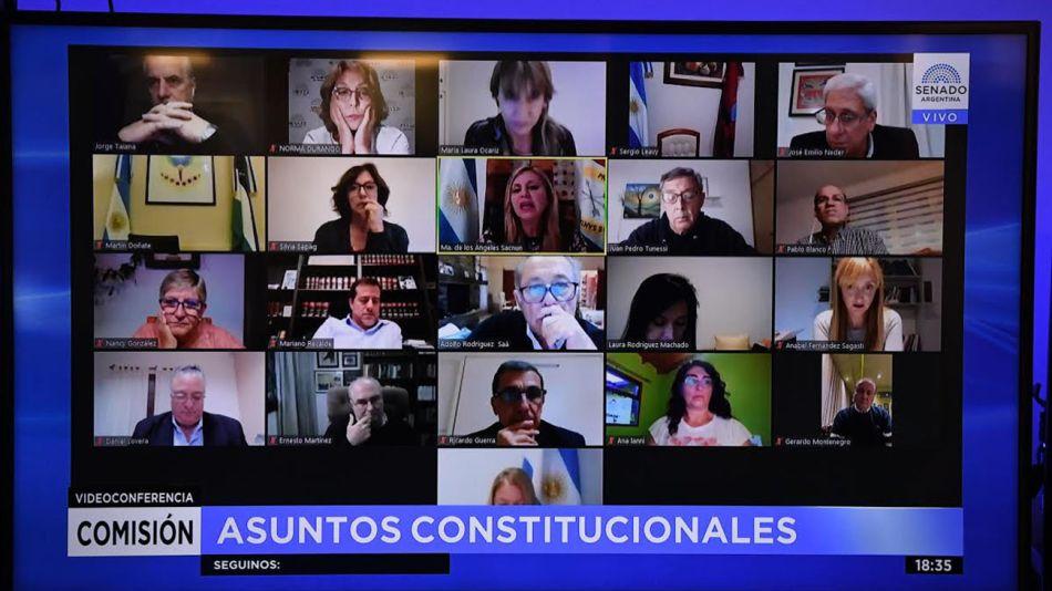 Comisión de Asuntos Constitucionales del Senado 20210506