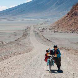 Hay subidas que se hace necesario bajar de la bici y hacerlas a pie.