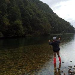 Si bien nos tocó algún día de lluvia, eso no impidió la pesca ni poder disfrutar de los distintos lugares visitados.