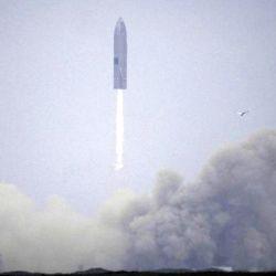 La prueba de 10 km de altura del SN15 es el quinto vuelo de un prototipo a escala real de la Starship.