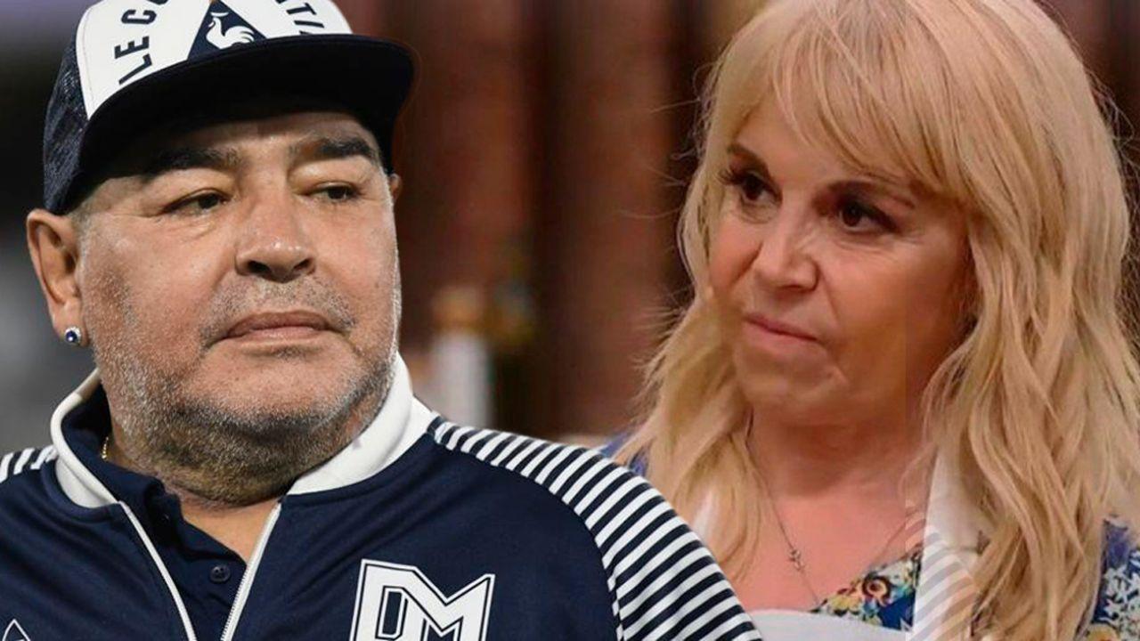 Diego Maradona - Claudia Villafañe | Foto:cedoc