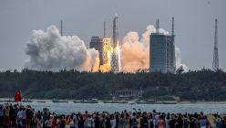 Cohete chino Long March 5b 20210507