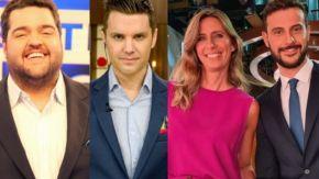 Darío Barassi, Santiago del Moro, Luciana Geuna y Diego Leuco 0705