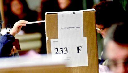 Urnas. La elección 2021 tiene en vilo al Gobierno.