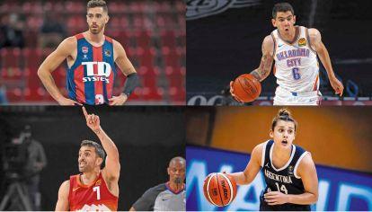 For export. Deck, Campazzo, Vildoza y Florencia Chagas, las nuevas caras de la NBA. Y podría haber más.