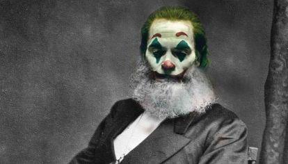 No es Marx, es El Guasón.