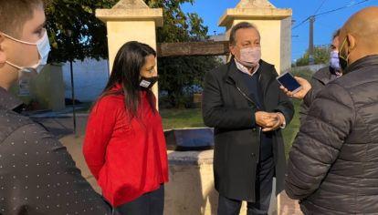 RECORRIDA. Santos, el hombre de Macri en Córdoba en modo campaña. Ahora viene hacer encajar las piezas.