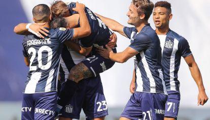 FRENTES ABIERTOS. El 'Albiazul' sigue con chances en los tres torneos que está compitiendo: Copa de la Liga Profesional, Copa Argentina y Copa Sudamericana.