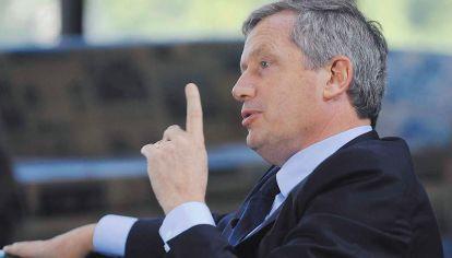 Candidato. El dirigente afirma que está dispuesto a pelear con Vidal para encabezar la lista bonaerense y luego ir por la gobernación.