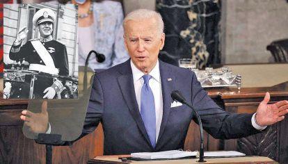 Lo internacional en clave parroquial. Fernández comparó a Biden con Perón y la oposición festejó el triunfo del PP en Madrid.