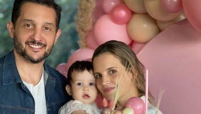 Las fotos del festejo de cumpleaños de la hija de Germán Paoloski y Sabrina Garciarena