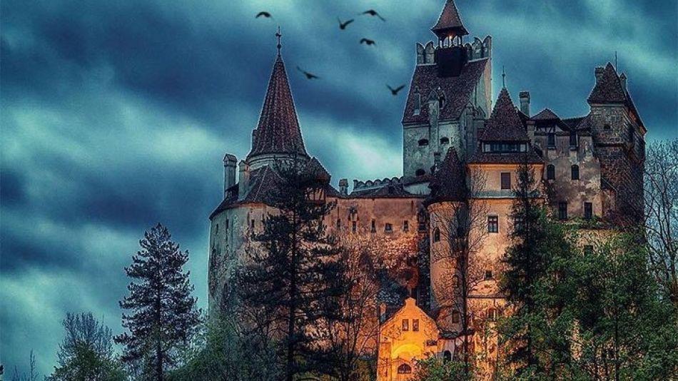 Castillo de Drácula en Rumania