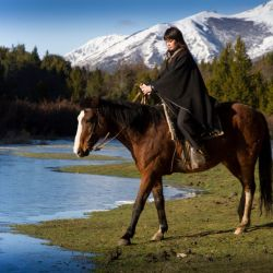 Las cabalgatas son unas de las actividades favoritas por los locales en temporada baja.