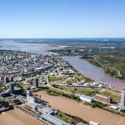 Uno de los factores que más han determinado esta bajante histórica del río Paraná es la falta de lluvia.