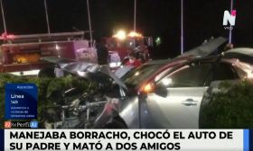 Accidente fatal en Tigre