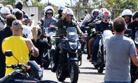 Bolsonaro motorbike