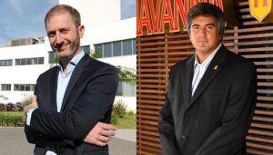Federico Trucco CEO de Bioceres y Alan Aurich CEO de Havanna 20210510
