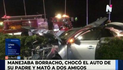 Accidente fatal en Tigre