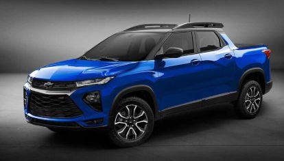 ¿Montana? Chevrolet anuncia su nueva pick-up compacta