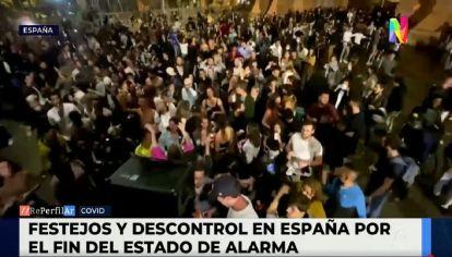 Descontrol en España tras el fin del Estado de Alarma