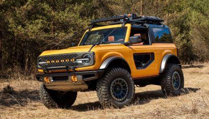 El nuevo Ford Bronco tendrá más torque y potencia de lo anunciado
