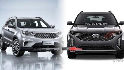 Ford lanzará un nuevo SUV, ¿basado en Territory?