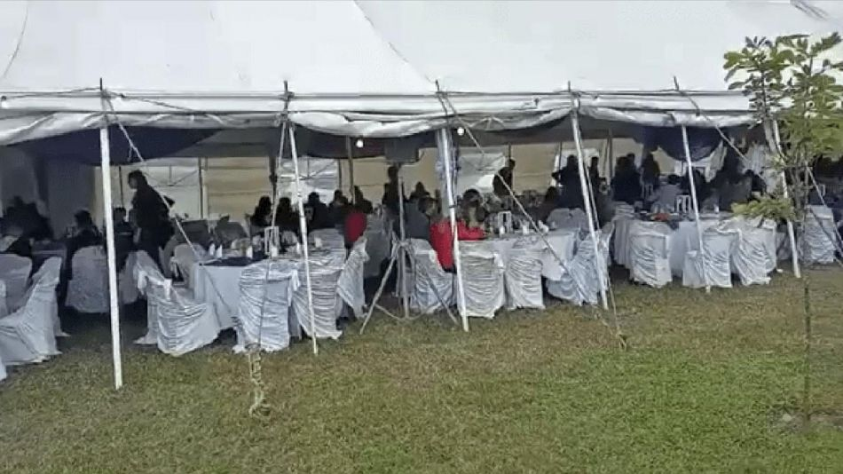 Desalojan una fiesta de 15 años con aproximadamente 400 invitados 20210510