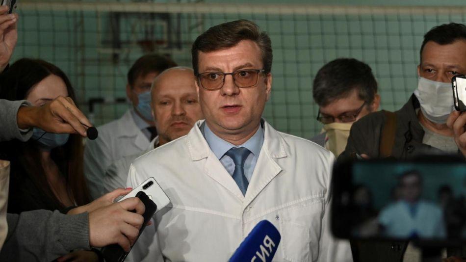 Desaparición Médico Navalni
