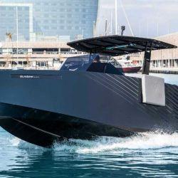 La embarcación es un modelo especial que está inspirado en el Formentor, el primer auto de CUPRA.