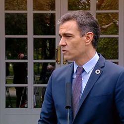 Presidente de España Pedro Sánchez.